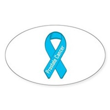 Prostate Cancer Oval Decal