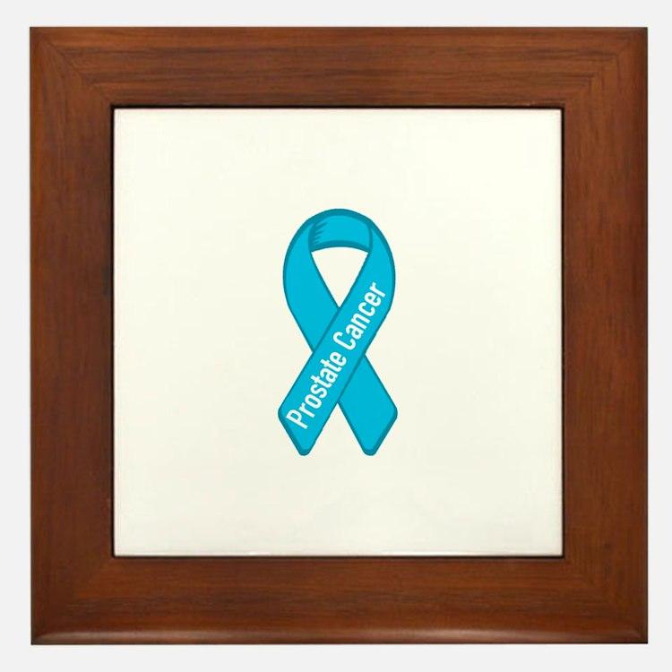 Prostate Cancer Framed Tile
