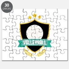 Volleyball Emblem Puzzle