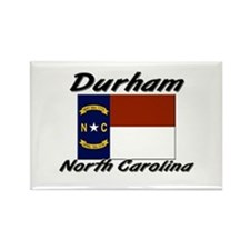 Durham North Carolina Rectangle Magnet