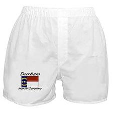 Durham North Carolina Boxer Shorts