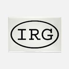 IRG Oval Rectangle Magnet