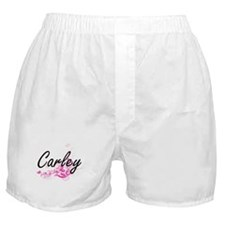 Carley Artistic Name Design with Flow Boxer Shorts