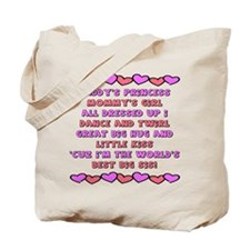 Best Big Sis / Big Sister Tote Bag