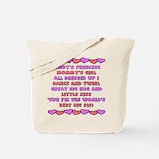 Best Big Sis / Big Sister Tote Bag