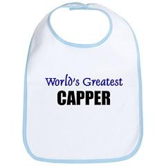 Worlds Greatest CAPPER Bib