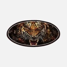 TIger on fire Patch