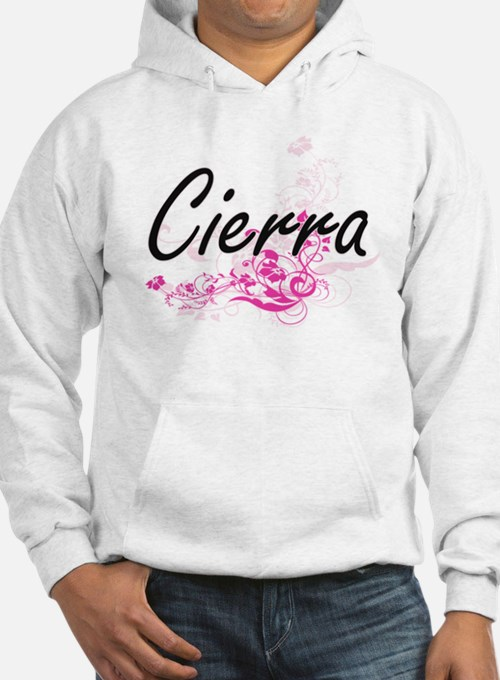 Cierra Artistic Name Design with Jumper Hoody