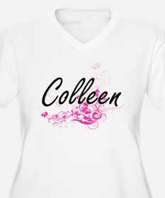 Colleen Artistic Name Design wit Plus Size T-Shirt