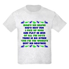 Best Big Brother T-Shirt