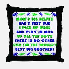 Best Big Brother Throw Pillow