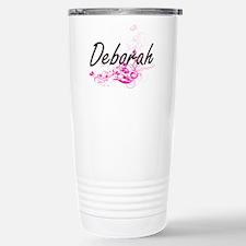 Deborah Artistic Name D Travel Mug