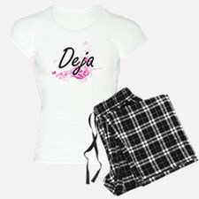 Deja Artistic Name Design w Pajamas