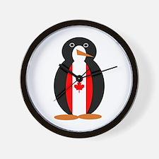 Penguin of Canada Wall Clock