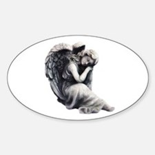 Resting Angel Decal