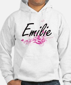 Emilie Artistic Name Design with Hoodie