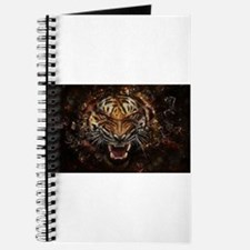 TIger on fire Journal