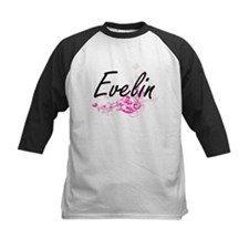 Evelin Artistic Name Design with F Baseball Jersey
