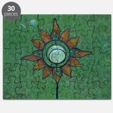 Solar Sunflower Puzzle
