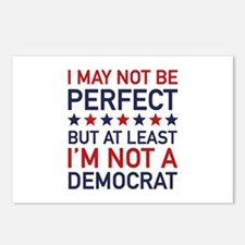 At Least I'm Not A Democrat Postcards (Package of