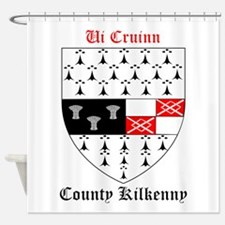 Ui Cruinn - County Kilkenny Shower Curtain