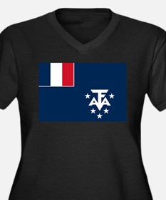 French Southern and Antarctic Lands Plus Size T-Sh