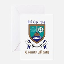 Ui Cheithig - County Meath Greeting Cards