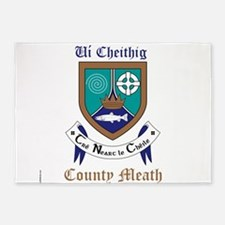 Ui Cheithig - County Meath 5'x7'Area Rug