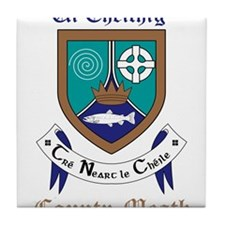 Ui Cheithig - County Meath Tile Coaster