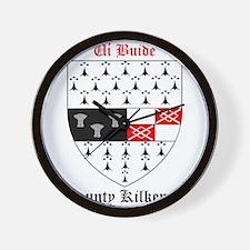 Ui Buide - County Kilkenny Wall Clock