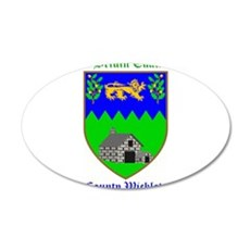 Ui Briuin Cualand - County Wicklow Wall Decal