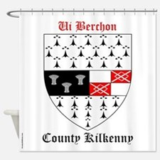 Ui Berchon - County Kilkenny Shower Curtain
