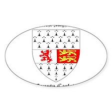 Ui Bairrche Magh da chonn - County Carlow Decal