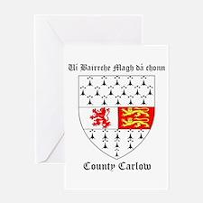 Ui Bairrche Magh da chonn - County Carlow Greeting