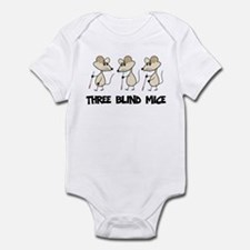 Three Blind Mice Infant Bodysuit