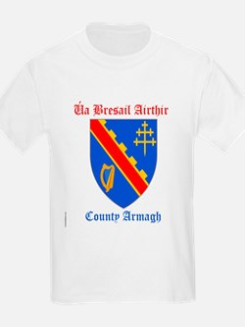 Ua Bresail Airthir - County Armagh T-Shirt