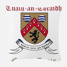 Tuath-an-Toraidh - County Laois Woven Throw Pillow