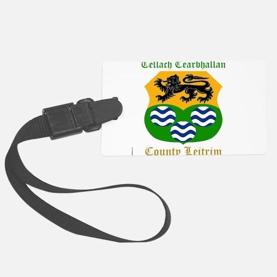 Tellach Cearbhallan - County Leitrim Luggage Tag