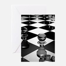 Chess Board Greeting Cards