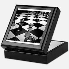 Chess Board Keepsake Box
