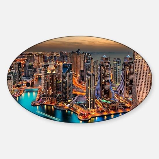 Dubai Skyline Decal