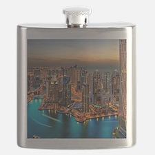 Dubai Skyline Flask