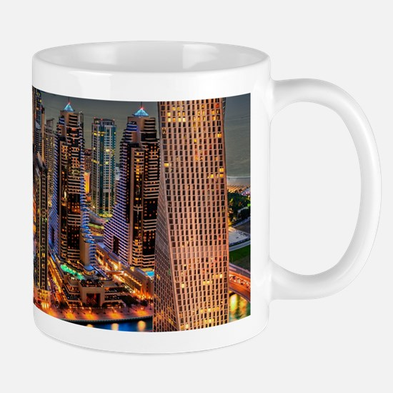 Dubai Skyline Mugs