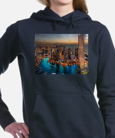 Dubai Skyline Women's Hooded Sweatshirt