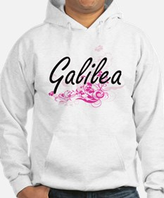 Galilea Artistic Name Design wit Hoodie Sweatshirt