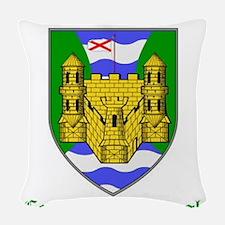 Sil nDaimine - County Fermanagh Woven Throw Pillow