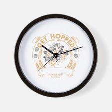 Get Hopped Wall Clock