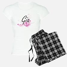 Gia Artistic Name Design wi Pajamas