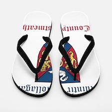 Muintir Giollagain - County Westmeath Flip Flops