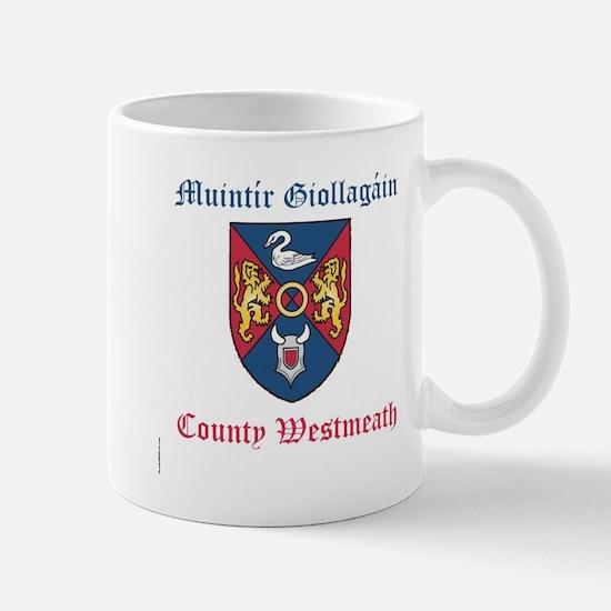 Muintir Giollagain - County Westmeath Mugs